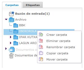 Configurar las carpetas en Metaposta