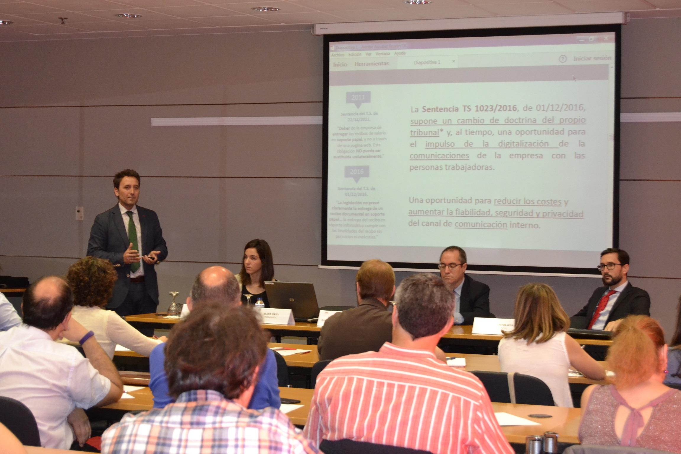 jornada de Comunicación Interna y Contratación Electrónica para la Transformación digital del área de RRHH